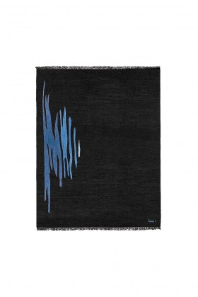 Studio Kali - Ege No 1 Kilim Rug Midnight Blue 180 x 240 cm Kilim