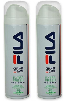 Fila - Fila Change The Game Extra Fresh 150 ml x 2 Deodorant Sprey Set