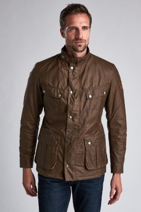 Barbour International - B.Intl Duke Yağlı Ceket BR31 Bark
