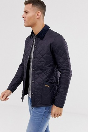 Barbour - Barbour Heritage Liddesdale® Kapitone Slim Fit NY91 Navy
