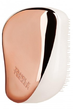 Tangle Teezer - Tangle Teezer Compact Styler Rose Gold Cream Saç Fırçası