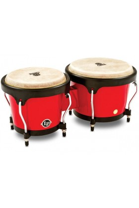 "Latin Percussion	 - LATIN PERCUSSION LPA601F-RD - LP® Aspire® 6-3/4"" & 8"" Kırmızı Fiberglas Bongo"