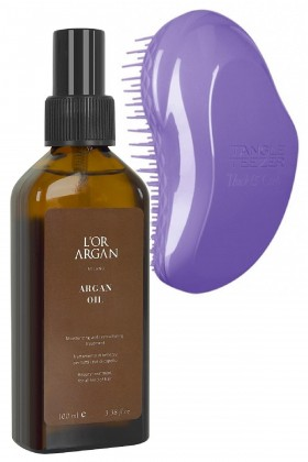 Tangle Teezer - Tangle Teezer Thick And Curly + Lor Argan Milano Argan Yağı 100ml