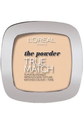 L'Oréal Paris - FDT TRUE MATCH POWDER C1 ROSE IVORY