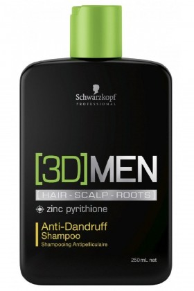 3d Men	 - Schwarzkopf 3d Men Kepek Şampuanı 250ml