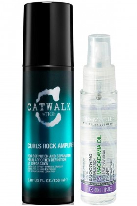 Tigi - Tigi Catwalk Curls Rock Amplifier 150ml + Spa Master Macadamia Oil Saç Serumu 50ml