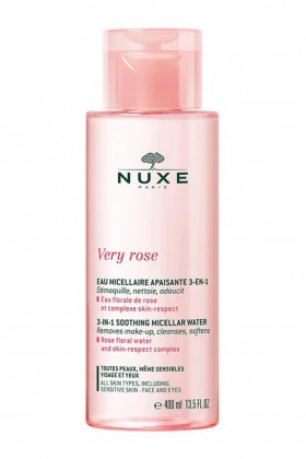 Nuxe - Nuxe Very Rose 3 In 1 Soothing Micellar Water 400 ml