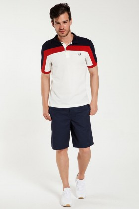 Fred Perry - 151 Chino Lacivert Şort S6200
